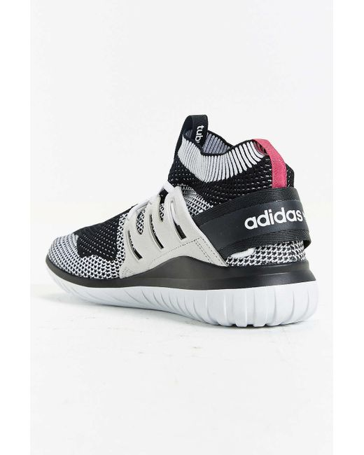 adidas originals tubular nova primeknit sneaker in gray. Black Bedroom Furniture Sets. Home Design Ideas