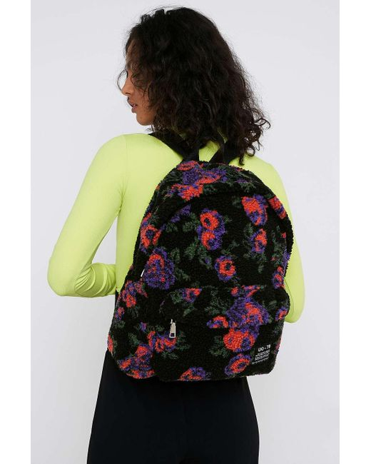 Urban Outfitters Multicolor Uo Floral Teddy Backpack