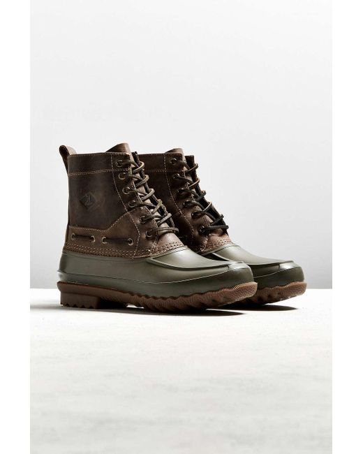 Sperry Top Sider Decoy Boot In Green For Men Lyst