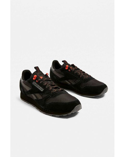 6c26efcec4f0 Reebok Classic Black And Carotene Trainers in Black for Men - Lyst