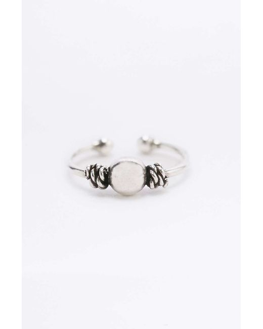 Urban outfitters Sterling Silver Ball And Twist Nose Ring ...