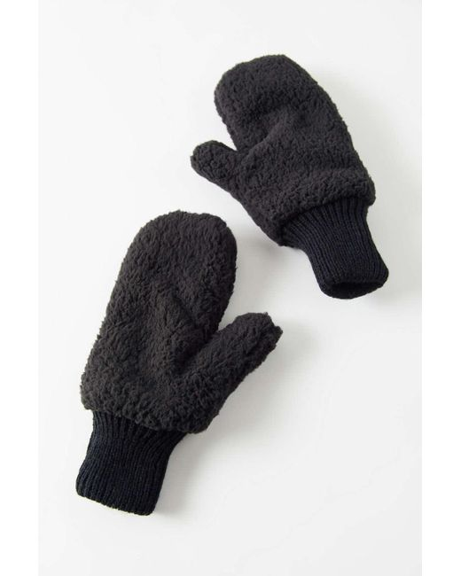 Urban Outfitters Multicolor Uo Teddy Mitten