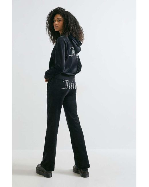 Juicy Couture Black Uo Exclusive Flared Track Pants