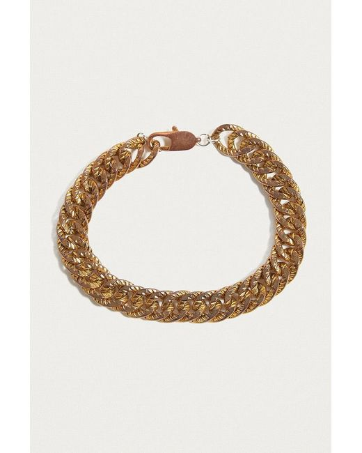 Urban Outfitters   Metallic Chunky Chain Bracelet   Lyst