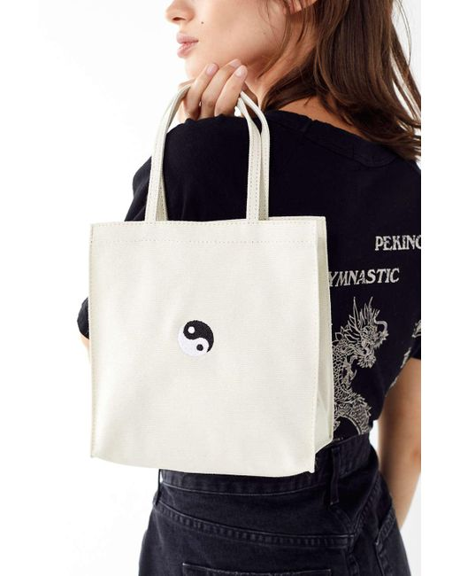 aa1378cfaf Urban Outfitters - Natural Mini Canvas Tote Bag - Lyst ...