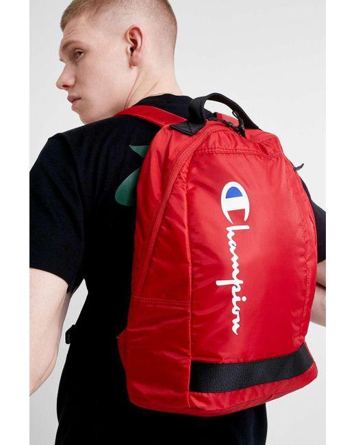 Champion Rucksack in Red für Herren