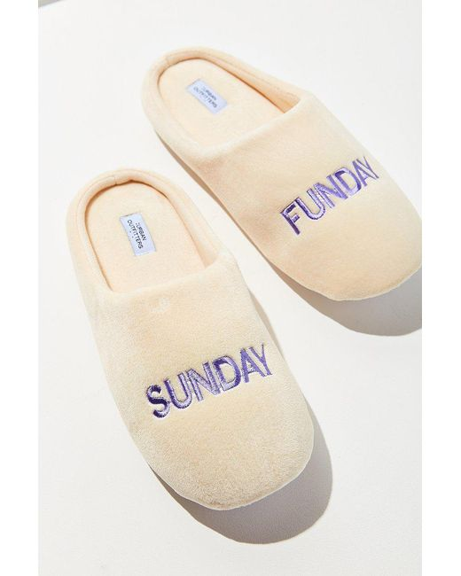 Urban Outfitters   Multicolor Uo Sunday Funday Slipper   Lyst