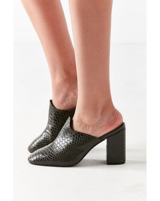Urban Outfitters | Green Mod Mule Heel | Lyst
