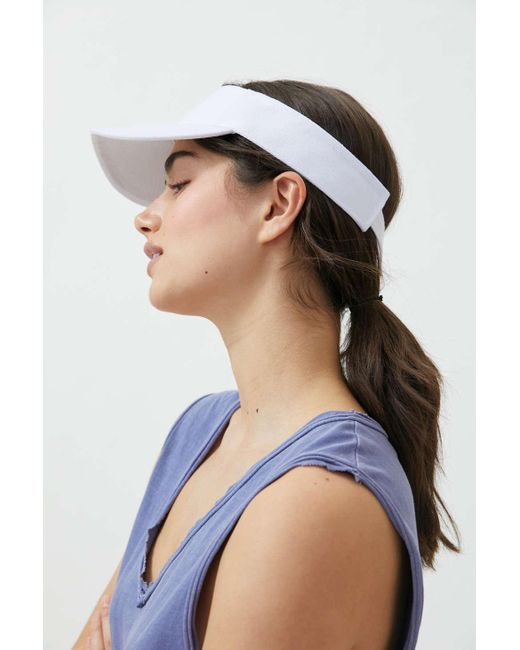Urban Outfitters White Uo Ace Visor