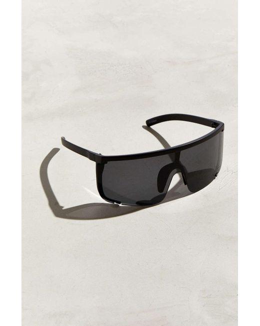 1fac4e3729 Urban Outfitters - Black Modern Oversized Sport Shield Sunglasses for Men -  Lyst ...