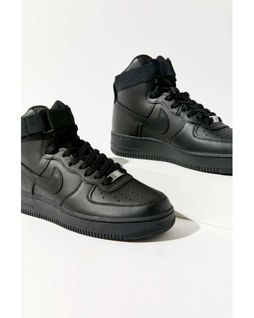 good quality check out good quality Nike Nike Air Force 1 High Topsneaker in Black - Lyst