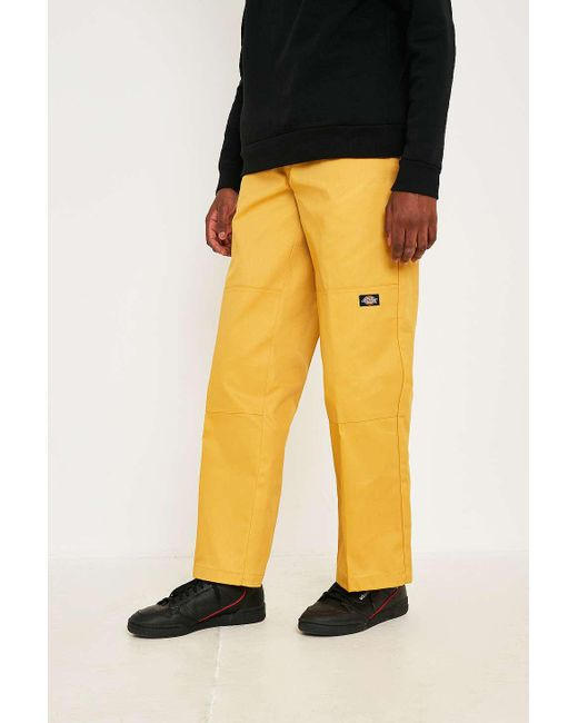 81425644a65 Men's Yellow 874 Double Knee Mustard Work Trousers