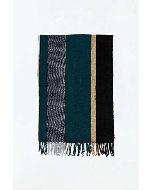 Urban Outfitters Multicolor Uo Mixed Pattern Scarf