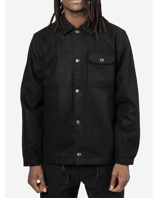 Coach Jacket di Universal Works in Black da Uomo