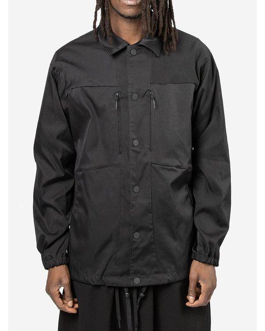 White Mountaineering Black Coach Jacket for men