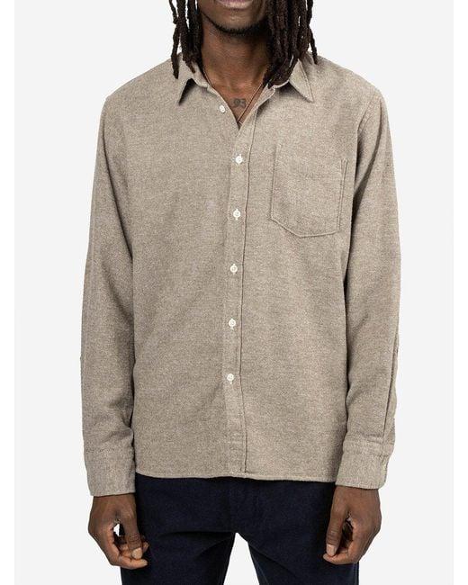 Camicia New Standard di Universal Works in Multicolor da Uomo