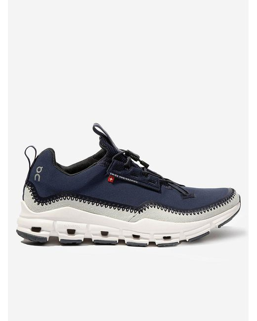 On Blue Cloudaway Sneakers for men