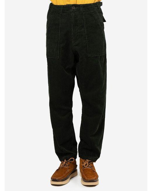 Pantaloni Fatigue di Universal Works in Green da Uomo