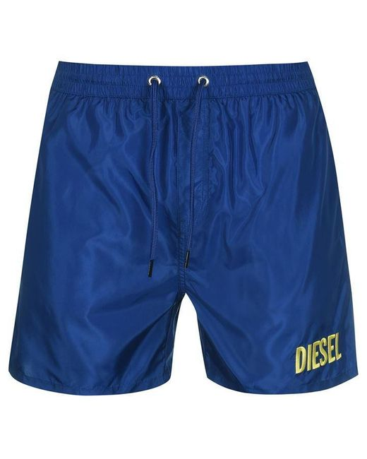 DIESEL Blue Wave Swim Shorts for men