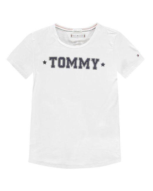 Tommy Hilfiger White Essential Short Sleeve T Shirt