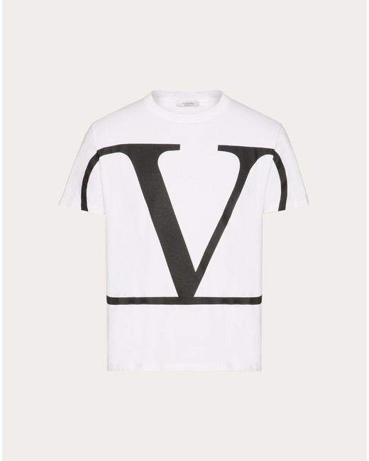 メンズ Valentino Vlogo Signature Tシャツ Multicolor