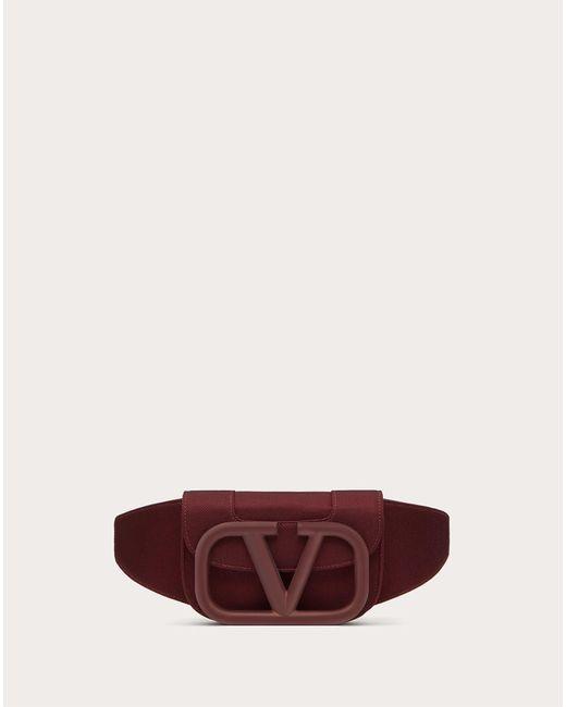 メンズ Valentino Garavani Supervee ナイロン ベルトバッグ Multicolor