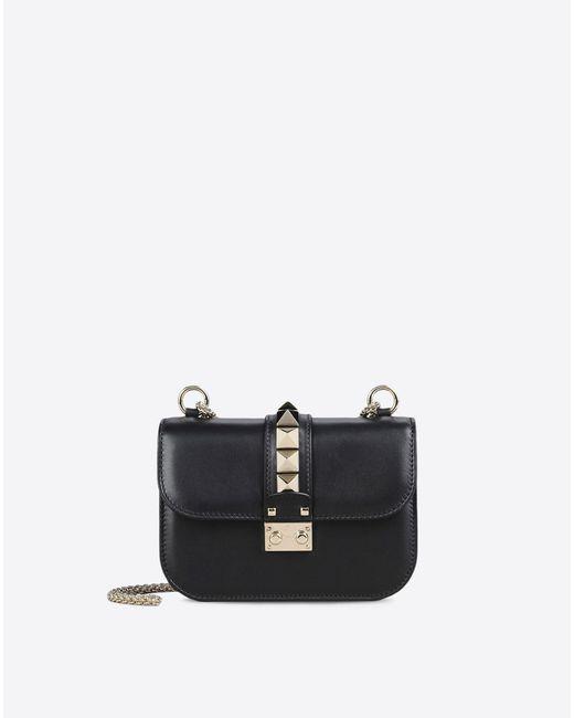 Valentino | Black Small Chain Cross Body Bag | Lyst