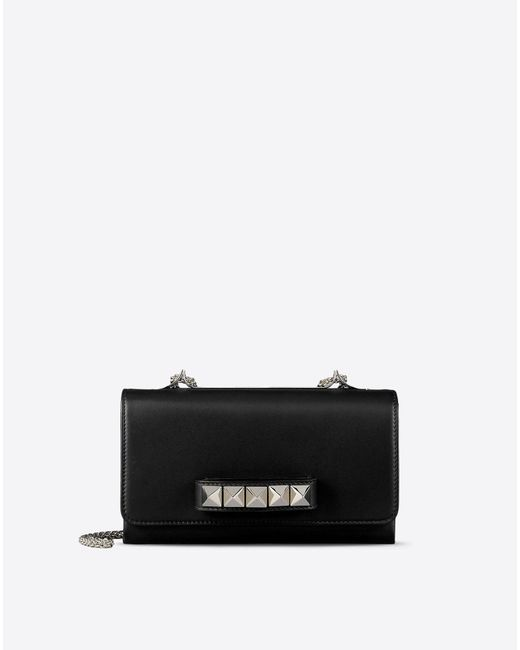 Valentino | Black Chain Cross Body Bag | Lyst
