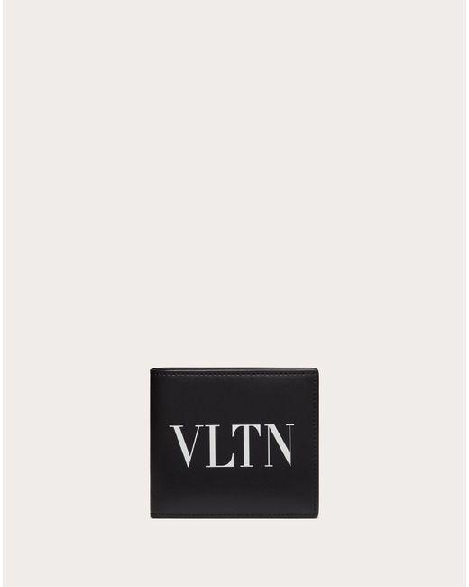 メンズ Valentino Garavani Garavani コレクション ブラック Vltn ウォレット Black