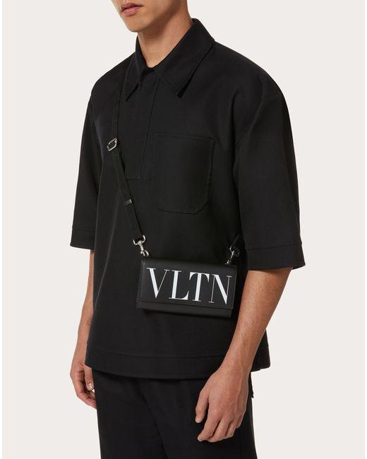 メンズ Valentino Garavani Vltn ウォレット Black