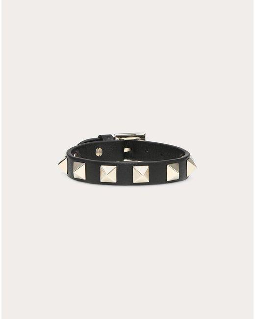 Valentino Black Rockstud Bracelet