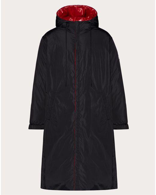 メンズ Valentino Valentino Vltn タグリバーシブルダウンジャケット Black