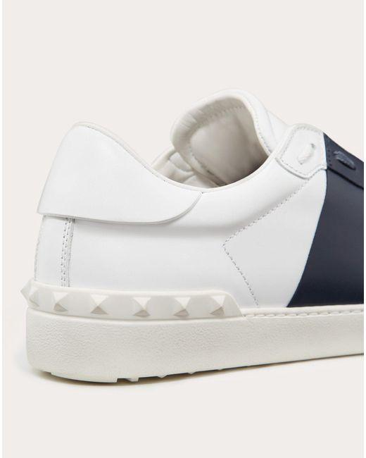 Valentino Contrast-stripe Leather