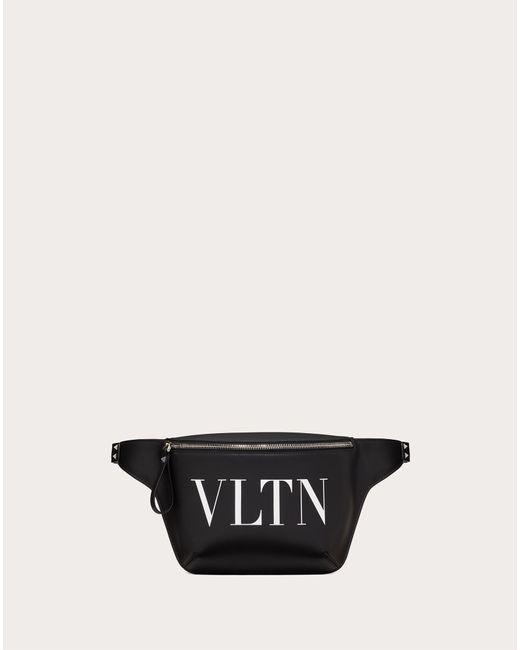 メンズ Valentino Garavani Valentino Garavani Vltn レザー ベルトバッグ Black