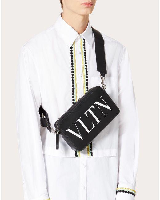 メンズ Valentino Garavani Vltn クロスボディバッグ Black