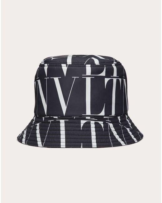メンズ Valentino Vltnタイムズ ナイロン バケットキャップ Multicolor