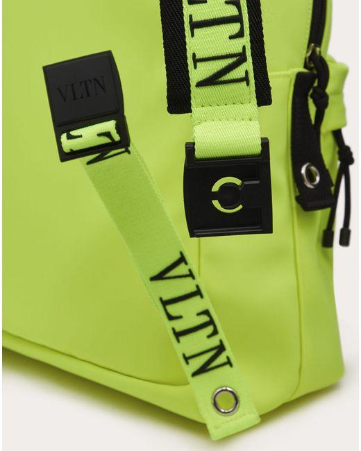 メンズ Valentino Vltn ナイロン バックパック Green