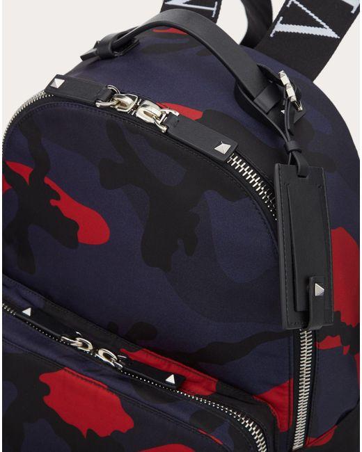 メンズ Valentino Garavani Vltn カモフラージュ バックパック Multicolor