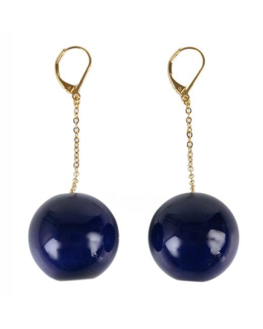 Marion Vidal | Klein Blue Ceramic Earrings | Lyst