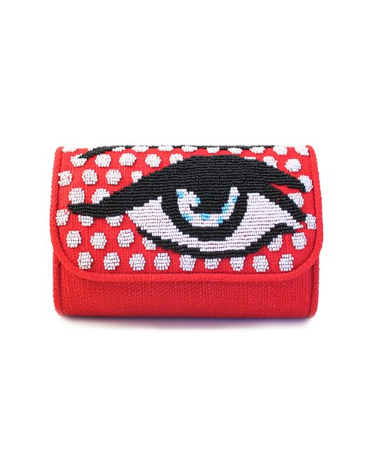 Sarah's Bag | Metallic Eye Handbag | Lyst