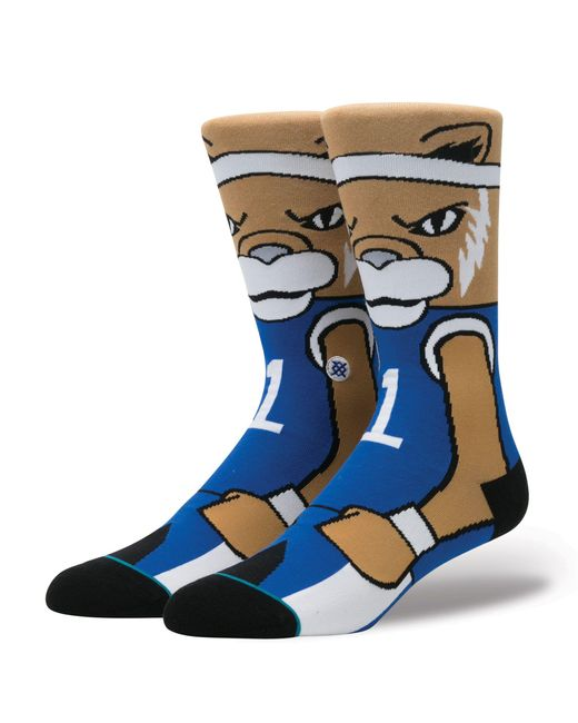 Stance Blue Scratch Socks for men