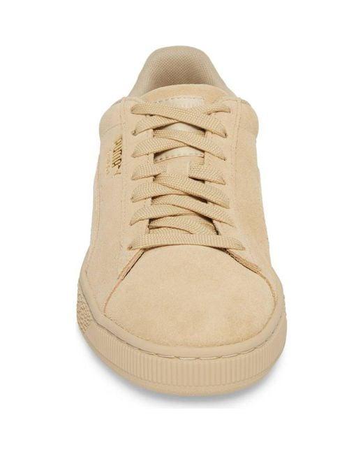 1330a595927 ... PUMA - Natural Suede Classic Tonal Fashion Sneaker for Men - Lyst ...