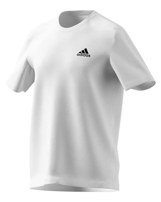Adidas Te E Pln Tee - Heren in het White voor heren