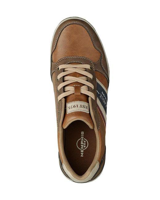 Memphis One Bruine Sneaker in het Blue voor heren