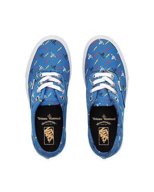 Vans Blue X Vivienne Westwood Authentic Schuhe