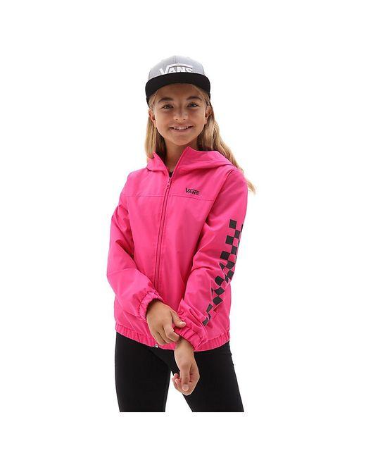 Vans Pink Mädchen Kastle Classic Windjacke