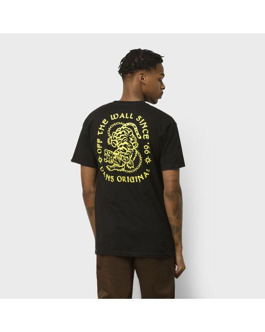Vans Angry Animal Classic T-shirt in Black für Herren