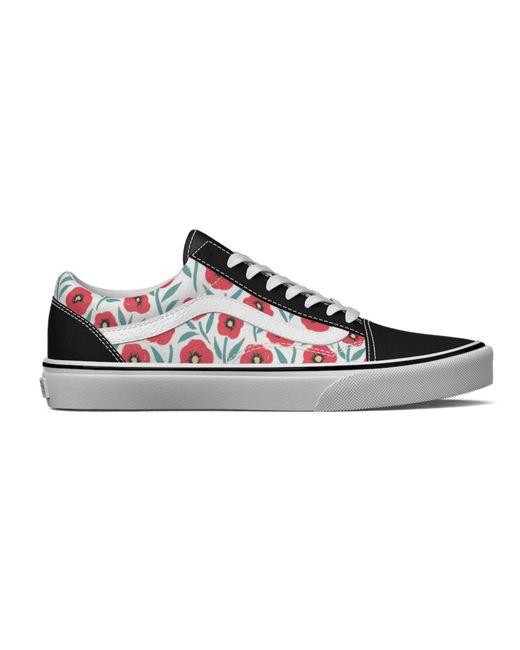 Vans Black Flowers Old Skool Schuhe