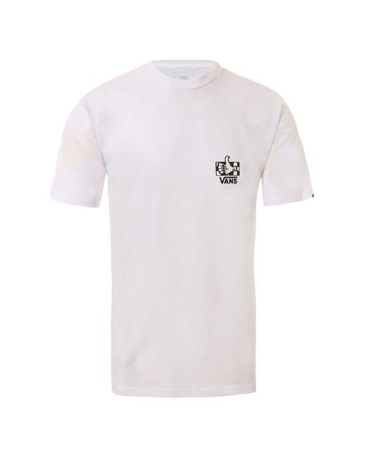 Vans Bmx Green Lighted T-shirt in White für Herren