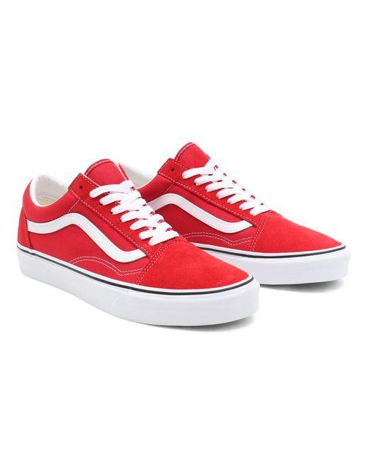 Vans Red Old Skool Schuhe